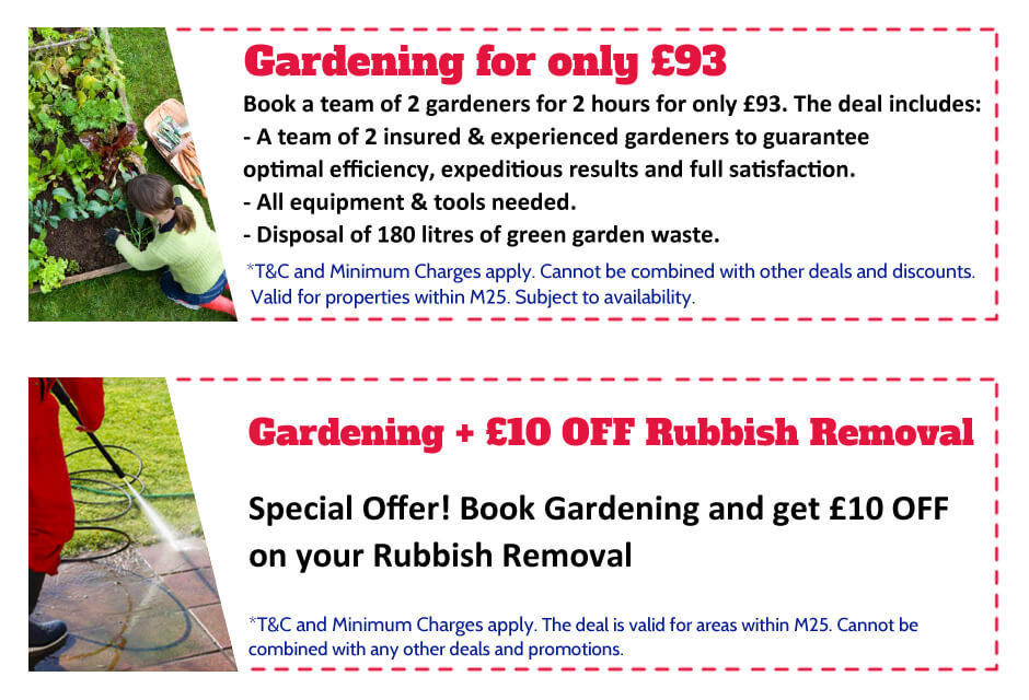 Gardeners Maida Vale Offer